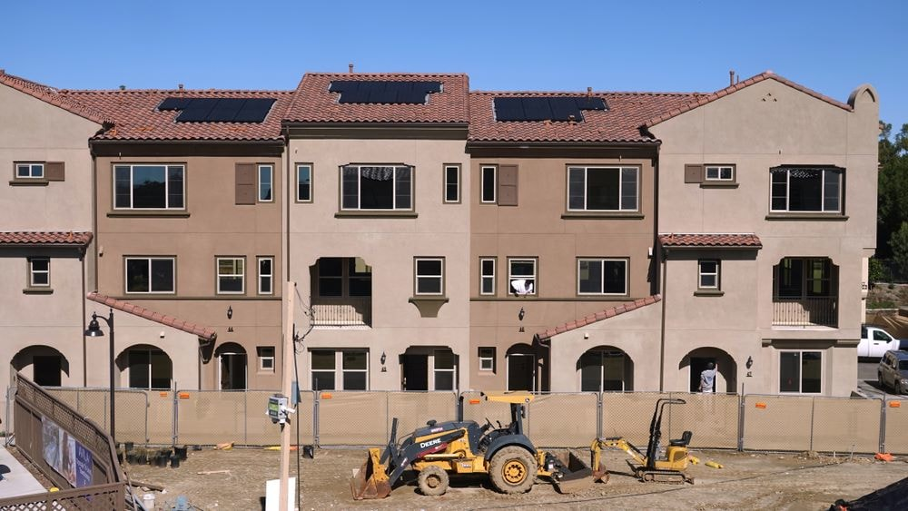 New Home Construction requires solar in 2020