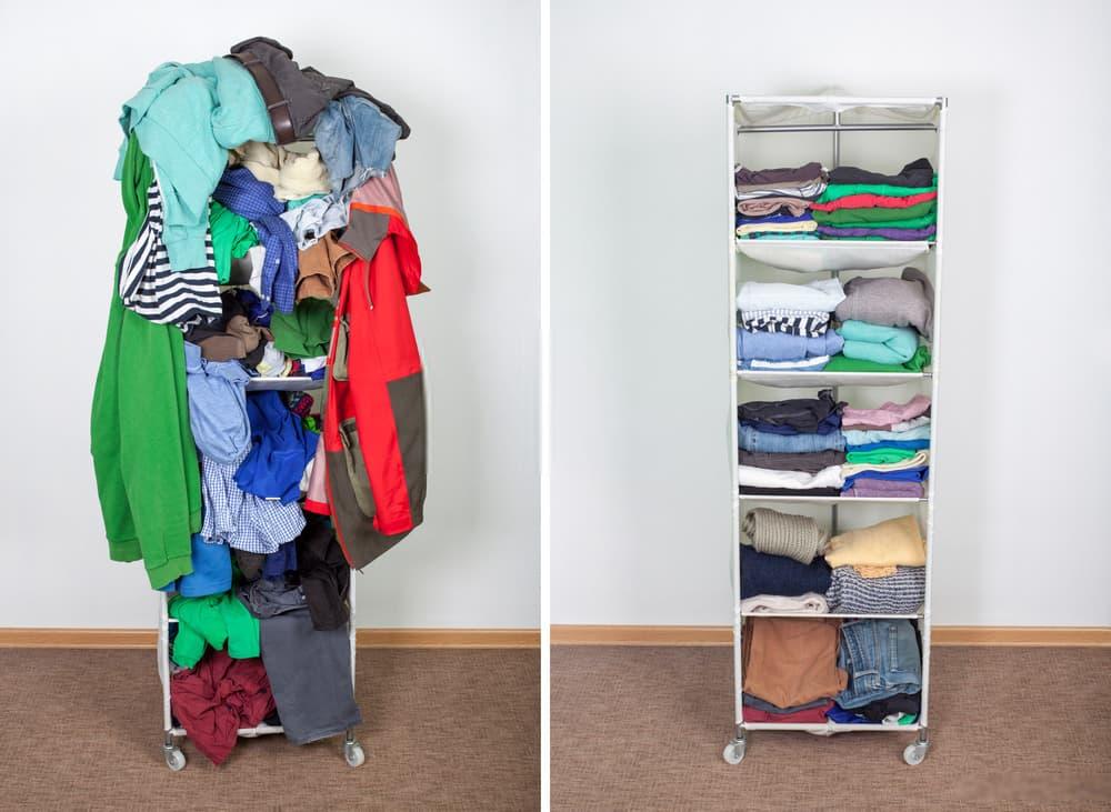 organize declutter
